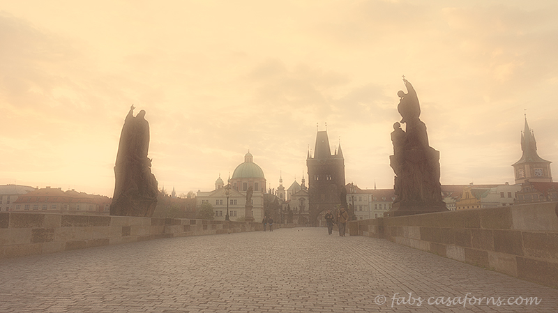 Prague, the beautiful city